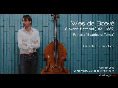 Giovanni Bottesini - Fantasia Beatrice di Tenda